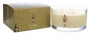 Wax Lyrical CRACKING CHRISTMAS multi wick fragranced candle citrus musk amber