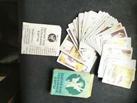 Playing cards 36 deck Gypsies, Fortunetellers with instructions Russia
