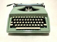 Vintage Torpedo Holiday Typewriter, Germany, 1960s, Working, Green