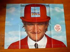 Toys ~ Original Quad Poster 1992 ~ Robin Williams / Michael Gambon