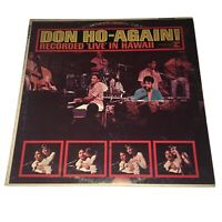 DON HO-AGAIN! RECORDED LIVE IN HAWAII VINYL LP 1966 REPRISE RECORDS SUCK EM UP