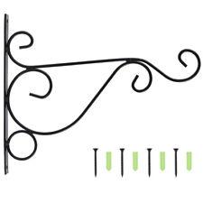 2x planta colgante soporte maceta gancho alimentador percha decoración pájaro