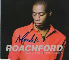 "Andrew Roachford autógrafo signed CD-cover ""How Could I? (financiar)"""