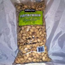 Kirkland Signature California Pistachios, 3 lbs. InShell Naturally Opened,Nuts