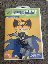 Leapster Leap Frog Batman Strength Numbers Game Only Cartridge K-1 5-7 Tested