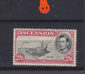 Ascension KGVI SG 45 perf 13.5 Cat £45.00 Mounted Mint