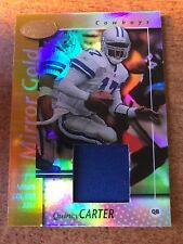 QUINCY CARTER 2002 Leaf Certified MIRROR GOLD Game Used JERSEY Ser  d  25 49a340e4f