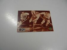 Joe Primeau/Harvey Jackson/Charlie Conacher, Kid Line 1991 NHL Pro Set card #338