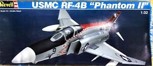 "KHS-REVELL- SCALE 1:32 USMC RF-4B ""PHANTOM II"" MODEL KIT (#4768)-1033"
