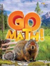Grade 4 Go Math StA Chapter Resource Blackline Masters Set 2016 4th Teacher