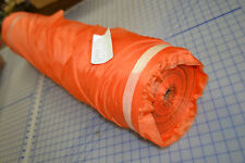 512 yards army parachute material USA fabric 1.2 ounce orange rip stop very thin