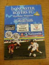 26/04/2000 Doncaster Rovers V Telford United (senza apparente/difetti GRAVI)