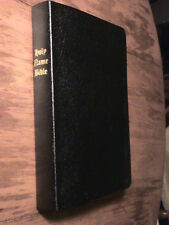 HOLY NAME BIBLE YAHWEH-ELOHIM-YAHSHUA NEW BLACK COVER IN BONDED LEATHER