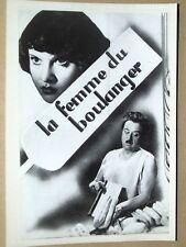 PHOTO RAIMU - G. LECLERC - LA FEMME DU BOULANGER