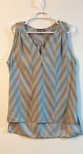 Misses The Royal Standard Collection Chevron Sleeveless Top ~ Sz Lg