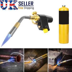 Plumbing Blow Torch Soldering Mapp Propane Gas Heat For Brazing Welding Tool UK