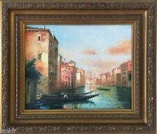 Peintures du XXe siècle et contemporaines huiles encadrés pays du monde, voyage