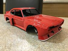 1/18 MINICHAMPS FORD CAPRI RS3100 BODYSHELL RED MODIFIED TUNING UMBAU DIORAMA