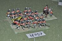 25mm napoleonic / british - highland infantry 24 figs - inf (16757)