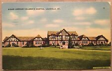 C007 Louisville KY Kentucky Kosair Crippled Childrens Hospital Vintage  PC