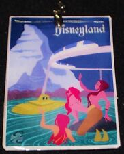 Disneyland Monorail Matterhorn Subs Attraction Poster Ornament Keychain Pendant