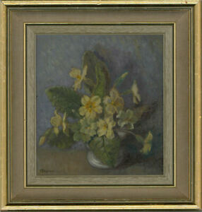 B. Stephens - Mid 20th Century Oil, A Posy Of Cowslips