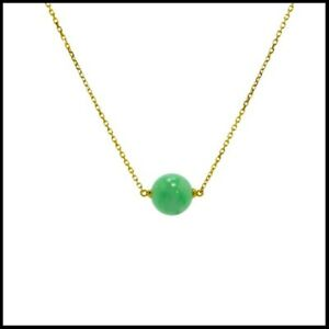 【KOOJADE】Emerald Green Jadeite Jade Necklaces《Grade A》