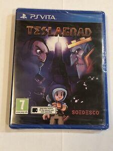 BRAND NEW SEALED Teslagrad (PlayStation Vita, 2015) PS Vita Region Free