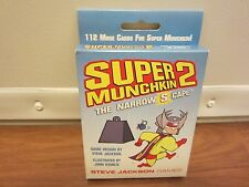 SUPER MUNCHKIN 2 (The Narrow S Cape EXPANSION)  Steve Jackson Games  NEW