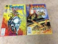 TUROK THE HUNTED  #1,2 OF 2 LOT OF 2 NM COMIC 1996 VALIANT