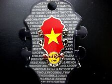 HARD ROCK CAFE HO CHI MINH CITY CORE HEADSTOCK FLAG Pin / Worldwide Series / P.3