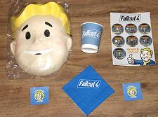 Fallout Promo Mask Napkin Sticker Set 2 Stickers Cup Gamescom 2015 2018 E3 76 4