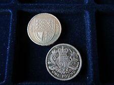 2 Raro 2015 Royal Mint una libra Monedas £ 1 CIRCULADO