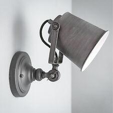 Vintage Wandleuchte Loft E27 Wandlampe Schwingarm Edison Glühbirne Lampenschirm