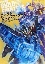 Gundam Build Fighters Mechanics & Animation Art Work Official Fan Book