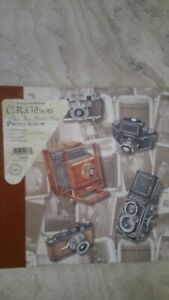 Cr gibson photo album Three Ring Pocket Page