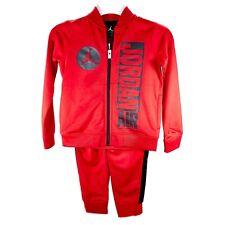 Nike Air Jordan 2 Piece Jumpman Tracksuit Set Red Boys Size 4 XS