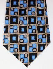 Armando Check Blu E Nero Cravatta bello Smart Ufficio Wear per uomini moderni