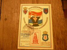 carte philatelique 1945 differdange centre de la resistance luxembourgeoise 867