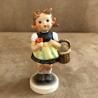 Sister Goebel Hummel 98 Figurine Girl with basket vintage flower sisters