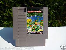 ♠ Jeu Nintendo NES Tortue Ninja,Turtles / 1985 Made in Japan ♠
