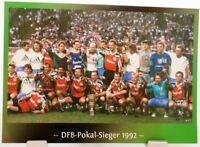 Hannover 96 + DFB Pokal Sieger 1992 + Fan Big Card Edition F119 +