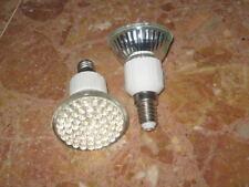 4 AMPOULES LED E14 60LEDS 220V  3,6W cold white ECONOMIQUE 45W 6000-6500K 270lm