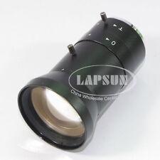 Manual Iris 5 ~ 100mm C / CS mount CCTV BIG Visual industriale Microscopio Lente UK