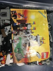 Lego 6081 King' Mountain Fortress, Complete With Mini Figures