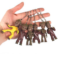 Guardians of the Galaxy Vol.2 Baby Groot Middle Finger KeyChain PVC FigureBauble