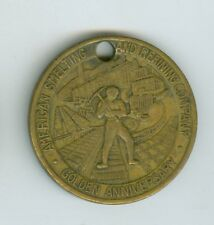1899-1949 American Mining & Smelting Company, 50th Anniversary Medal