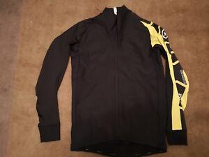 New M Size Assos Yellow LS Mille Intermediate Windproof Jacket Evo 7 RRP £135  3