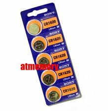 Sony CR1620 CR 1620 3V Coin Cell Button Battery x 5pcs Japan Genuine Exp.2027