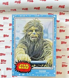Sagwa - Topps Star Wars Living Set® Card #192 - (PR: 1504)